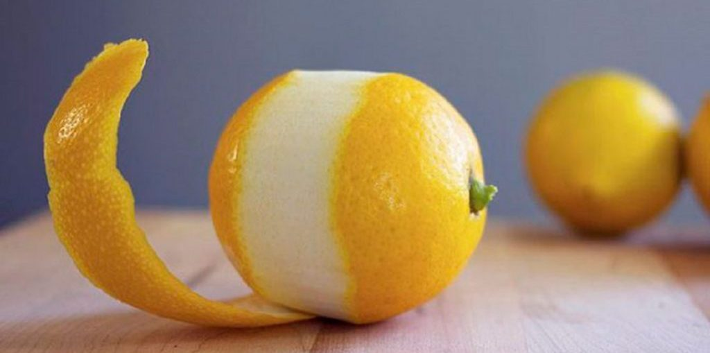 использования цедры лимона